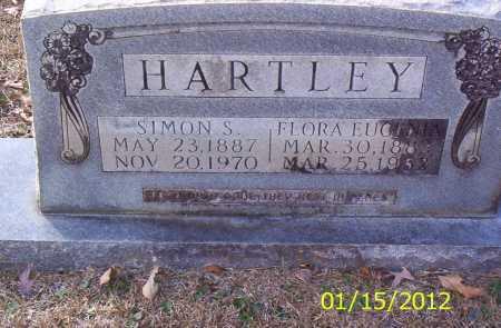 HARTLEY, FLORA EUGENIA - Drew County, Arkansas | FLORA EUGENIA HARTLEY - Arkansas Gravestone Photos