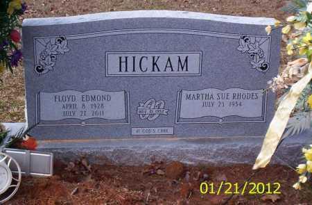 HICKAM (VETERAN KOR), FLOYD EDMOND - Drew County, Arkansas | FLOYD EDMOND HICKAM (VETERAN KOR) - Arkansas Gravestone Photos