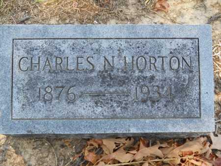 HORTON, CHARLES N - Drew County, Arkansas | CHARLES N HORTON - Arkansas Gravestone Photos