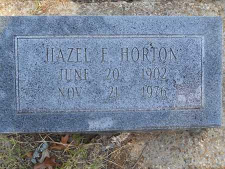 HORTON, HAZEL E - Drew County, Arkansas | HAZEL E HORTON - Arkansas Gravestone Photos