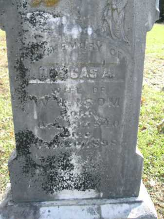 ISOM, DORCAS A - Drew County, Arkansas   DORCAS A ISOM - Arkansas Gravestone Photos