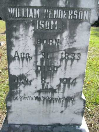 ISOM, WILLIAM HENDERSON - Drew County, Arkansas | WILLIAM HENDERSON ISOM - Arkansas Gravestone Photos