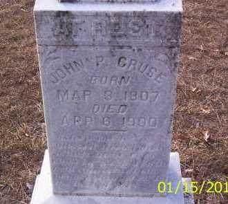 JOHN P, CRUSE - Drew County, Arkansas | CRUSE JOHN P - Arkansas Gravestone Photos