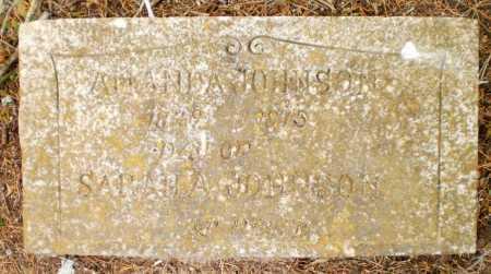 JOHNSON, AMANDA - Drew County, Arkansas   AMANDA JOHNSON - Arkansas Gravestone Photos