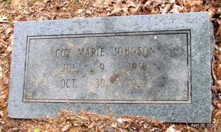 JOHNSON, COY MARIE - Drew County, Arkansas | COY MARIE JOHNSON - Arkansas Gravestone Photos