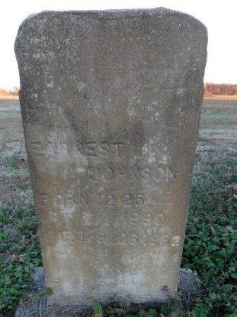 JOHNSON, EARNEST - Drew County, Arkansas | EARNEST JOHNSON - Arkansas Gravestone Photos