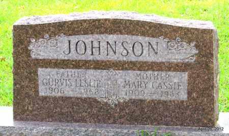 JOHNSON, MARY CASSIE - Drew County, Arkansas | MARY CASSIE JOHNSON - Arkansas Gravestone Photos
