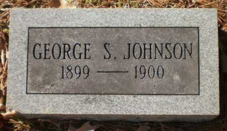 JOHNSON, GEORGE S - Drew County, Arkansas   GEORGE S JOHNSON - Arkansas Gravestone Photos