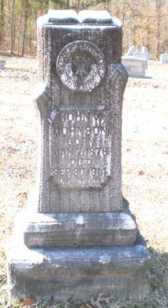 JOHNSON, JOHN W - Drew County, Arkansas   JOHN W JOHNSON - Arkansas Gravestone Photos
