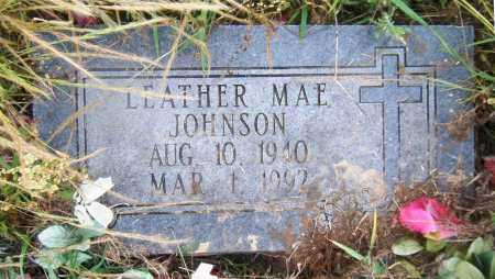 JOHNSON, LEATHER MAE - Drew County, Arkansas | LEATHER MAE JOHNSON - Arkansas Gravestone Photos