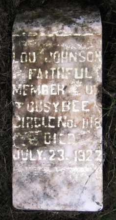 JOHNSON, LOU - Drew County, Arkansas | LOU JOHNSON - Arkansas Gravestone Photos