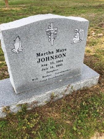 JOHNSON, MARTHA - Drew County, Arkansas   MARTHA JOHNSON - Arkansas Gravestone Photos