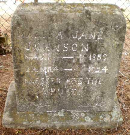 JOHNSON, MARTHA JANE - Drew County, Arkansas | MARTHA JANE JOHNSON - Arkansas Gravestone Photos