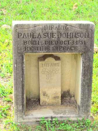 JOHNSON, PAULA SUE - Drew County, Arkansas | PAULA SUE JOHNSON - Arkansas Gravestone Photos