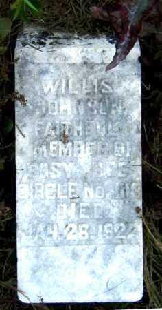 JOHNSON, WILLIS - Drew County, Arkansas | WILLIS JOHNSON - Arkansas Gravestone Photos