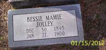 JOLLEY, BESSIE MAMIE - Drew County, Arkansas | BESSIE MAMIE JOLLEY - Arkansas Gravestone Photos