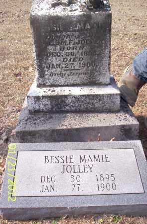 JOLLEY, BESSIE MAMIE - Drew County, Arkansas   BESSIE MAMIE JOLLEY - Arkansas Gravestone Photos