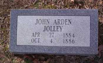 JOLLEY, JOHN ARDEN - Drew County, Arkansas   JOHN ARDEN JOLLEY - Arkansas Gravestone Photos