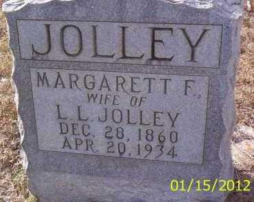 JOLLEY, MARGARETT F - Drew County, Arkansas | MARGARETT F JOLLEY - Arkansas Gravestone Photos