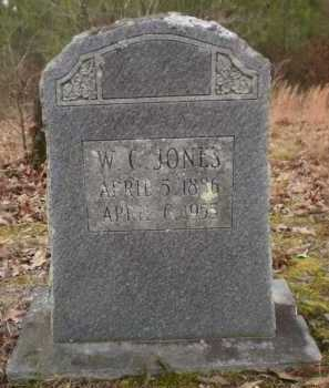 JONES, W C - Drew County, Arkansas   W C JONES - Arkansas Gravestone Photos