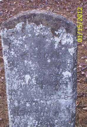 KENDALL, UNKNOWN - Drew County, Arkansas | UNKNOWN KENDALL - Arkansas Gravestone Photos