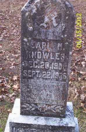 KNOWLES, EARL M - Drew County, Arkansas   EARL M KNOWLES - Arkansas Gravestone Photos