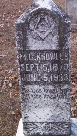 KNOWLES, MICAGER BARKLEY - Drew County, Arkansas   MICAGER BARKLEY KNOWLES - Arkansas Gravestone Photos