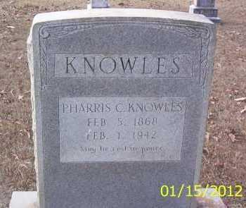KNOWLES, PARRIS C - Drew County, Arkansas | PARRIS C KNOWLES - Arkansas Gravestone Photos