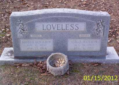 LOVELESS, ARTHUR BENJAMIN - Drew County, Arkansas | ARTHUR BENJAMIN LOVELESS - Arkansas Gravestone Photos