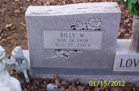 LOVELESS, BILLY W - Drew County, Arkansas   BILLY W LOVELESS - Arkansas Gravestone Photos