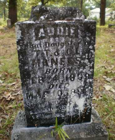 MANEES, ADDIE - Drew County, Arkansas   ADDIE MANEES - Arkansas Gravestone Photos