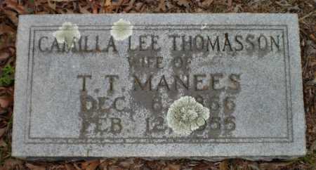 MANEES, CAMILLA LEE - Drew County, Arkansas   CAMILLA LEE MANEES - Arkansas Gravestone Photos