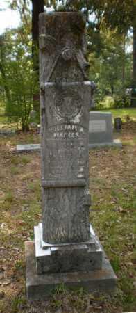 MANEES, WILLIAM A - Drew County, Arkansas | WILLIAM A MANEES - Arkansas Gravestone Photos
