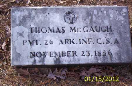 MCGAUGH (VETERAN CSA), THOMAS - Drew County, Arkansas | THOMAS MCGAUGH (VETERAN CSA) - Arkansas Gravestone Photos