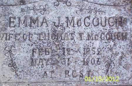 KENDALL MCGOUGH, EMMA JANE - Drew County, Arkansas   EMMA JANE KENDALL MCGOUGH - Arkansas Gravestone Photos