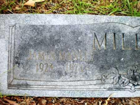 MILLER, JAMES MANEES - Drew County, Arkansas   JAMES MANEES MILLER - Arkansas Gravestone Photos