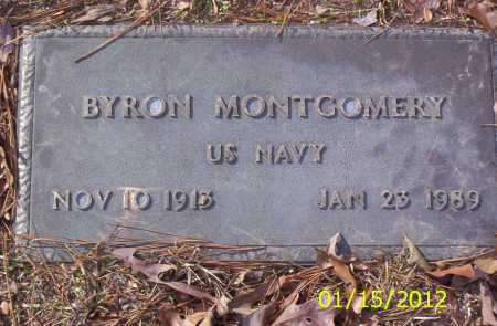 MONTGOMERY (VETERAN), BYRON - Drew County, Arkansas | BYRON MONTGOMERY (VETERAN) - Arkansas Gravestone Photos