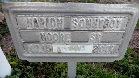 MOORE, SR., MARION SONNYBOY - Drew County, Arkansas | MARION SONNYBOY MOORE, SR. - Arkansas Gravestone Photos