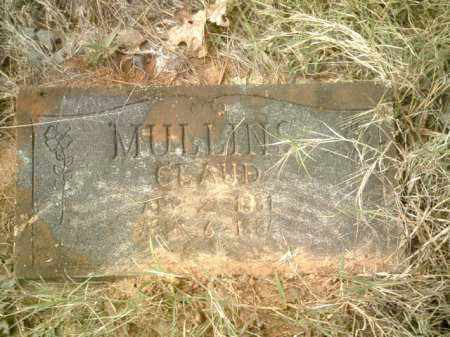 MULLINS, CLAUD - Drew County, Arkansas | CLAUD MULLINS - Arkansas Gravestone Photos