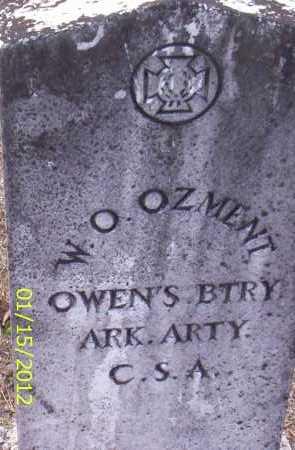 OZMENT (VETERAN CSA), W O - Drew County, Arkansas | W O OZMENT (VETERAN CSA) - Arkansas Gravestone Photos