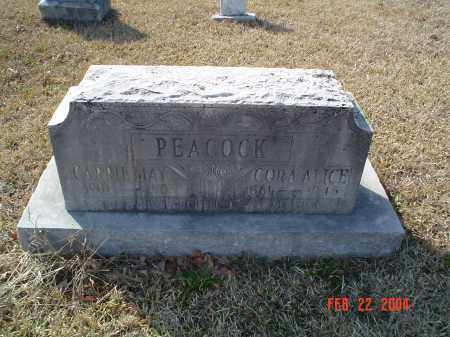 PEACOCK, CARRIE MAY - Drew County, Arkansas | CARRIE MAY PEACOCK - Arkansas Gravestone Photos