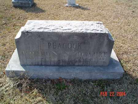PEACOCK, CORA ALICE - Drew County, Arkansas | CORA ALICE PEACOCK - Arkansas Gravestone Photos