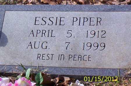 PIPER, ESSIE - Drew County, Arkansas | ESSIE PIPER - Arkansas Gravestone Photos