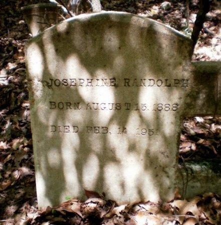 RANDOLPH, JOSEPHINE - Drew County, Arkansas | JOSEPHINE RANDOLPH - Arkansas Gravestone Photos
