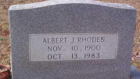 RHODES, ALBERT J - Drew County, Arkansas | ALBERT J RHODES - Arkansas Gravestone Photos