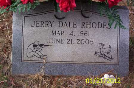 RHODES, JERRY DALE - Drew County, Arkansas | JERRY DALE RHODES - Arkansas Gravestone Photos