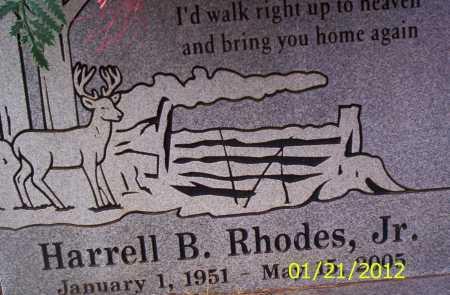 RHODES, JR, HARRELL B - Drew County, Arkansas | HARRELL B RHODES, JR - Arkansas Gravestone Photos