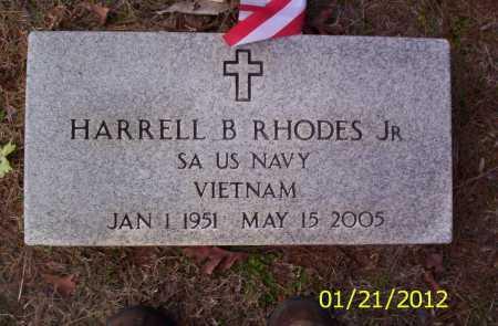 RHODES, JR (VETERAN VIET), HARRELL B - Drew County, Arkansas | HARRELL B RHODES, JR (VETERAN VIET) - Arkansas Gravestone Photos