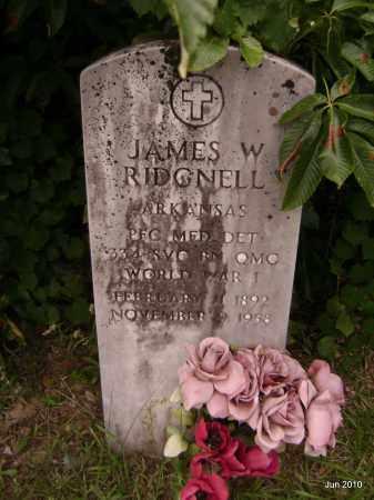 RIDGELL (VETERAN WWI), JAMES W - Drew County, Arkansas | JAMES W RIDGELL (VETERAN WWI) - Arkansas Gravestone Photos