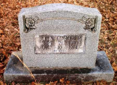 ROPER, JOHN C - Drew County, Arkansas | JOHN C ROPER - Arkansas Gravestone Photos